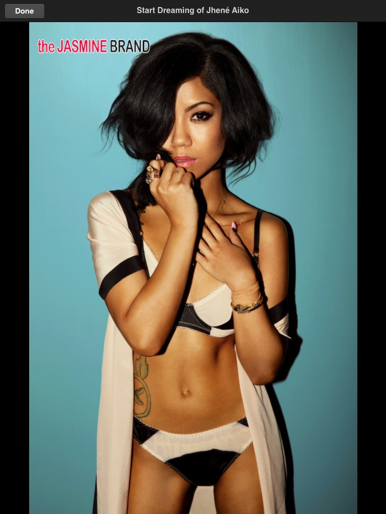 lingerie-jhene aiko-gq magazine spread 2014-the jasmine brand
