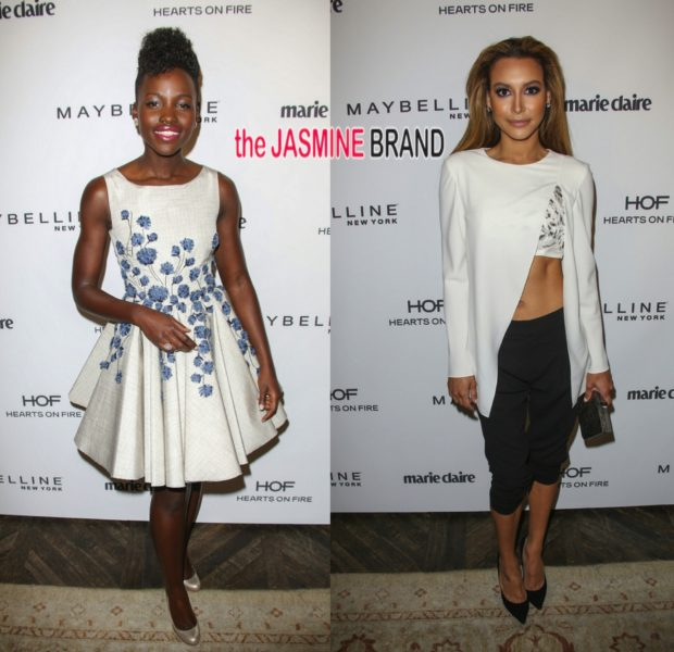 Naya Rivera & Lupita Nyongo Shine At Marie Claire's Fresh Faces Party
