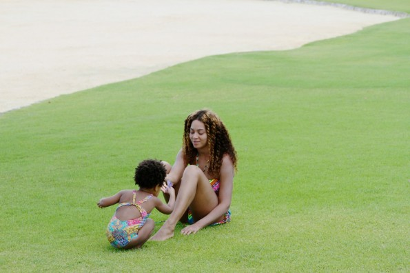 mommy and me-beyonce-jay z-6th anniversary vacation-dominican republic-the jasmine brand