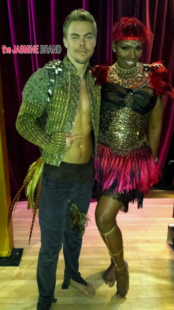 nene leakes-dancing with the stars-derek hough-the jasmine brand