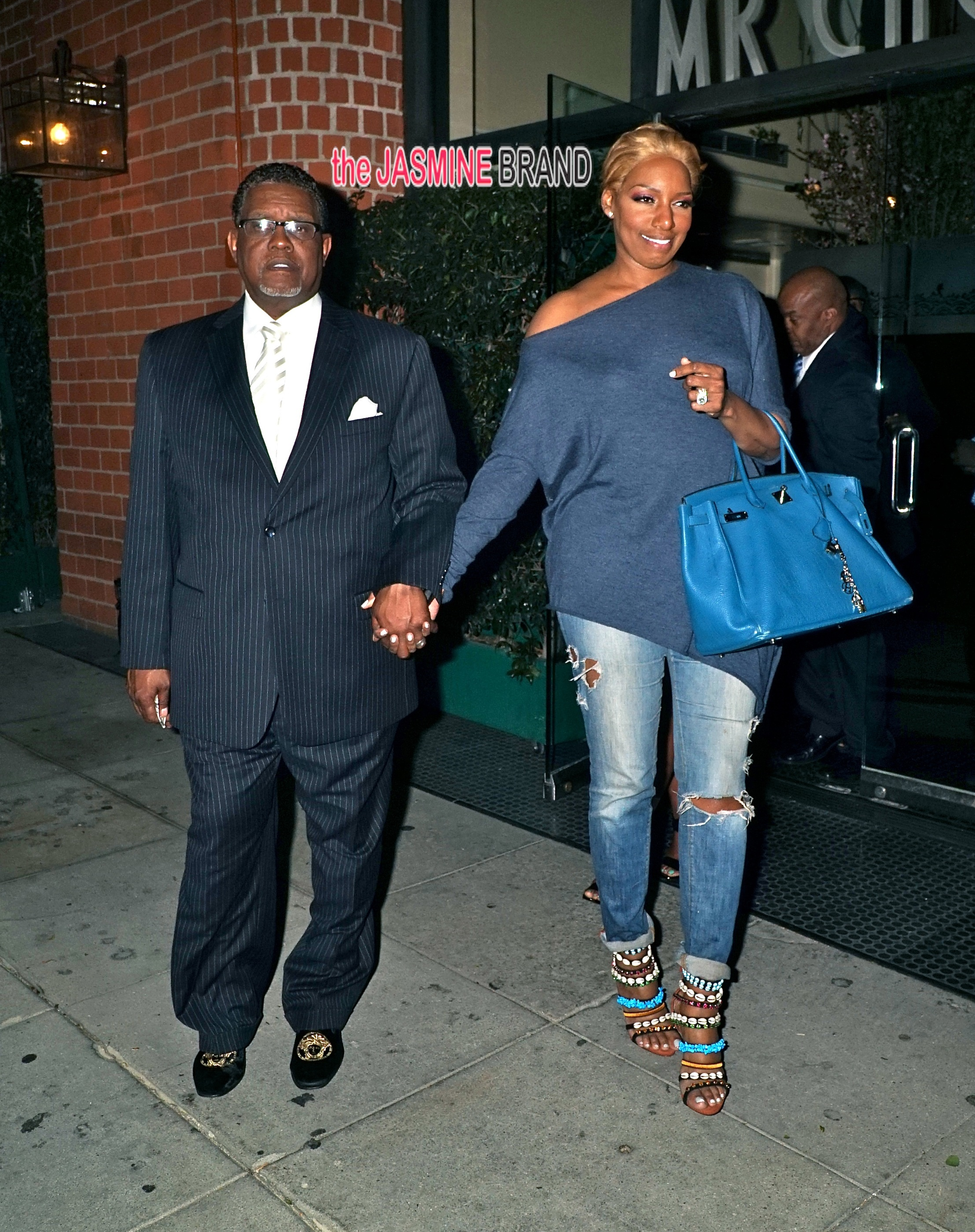 NeNe Leakes goes to Mr Chow with her husband