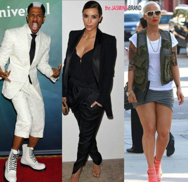 Celebrity Stalking: Amber Rose, Kim Kardashian, Nick Cannon, Keenen Ivory Wayans & Selita Ebanks