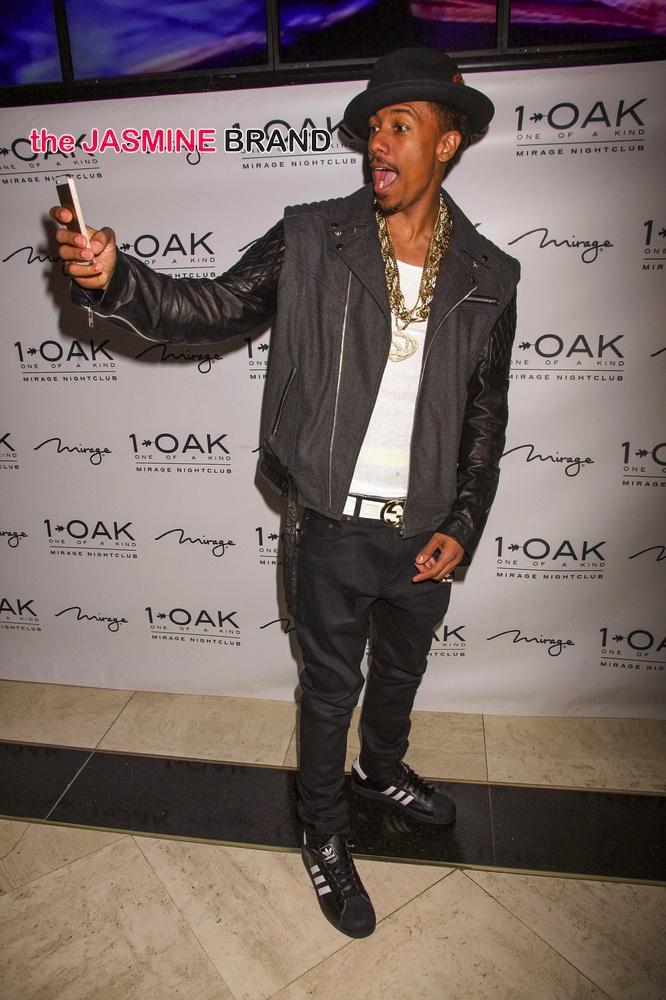 Nick Cannon Guest DJs at 1Oak Nightclub in Las Vegas on April 12, 2014