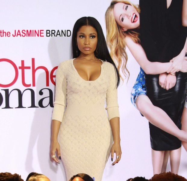 Nicki Minaj Celebrates 'The Other Woman' Premiere With High School Girlfriends