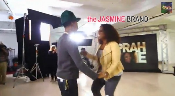 oprah winfrey-dances with pharrell-the jasmine brand