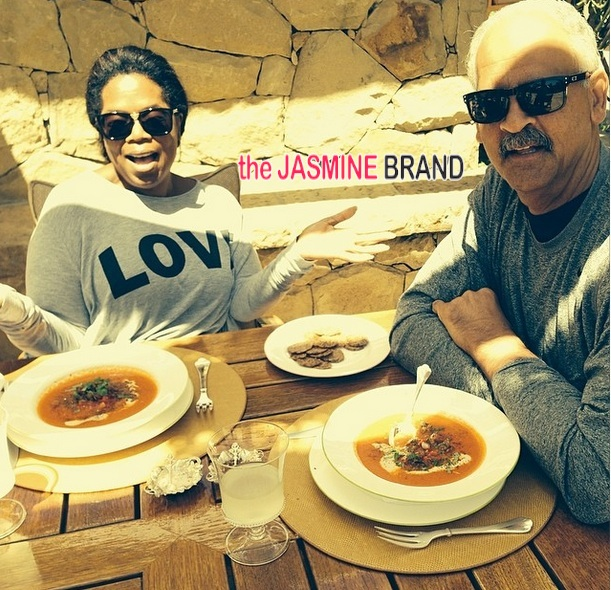 Oprah Reveals Why She Makes Few Public Appearances w Stedman