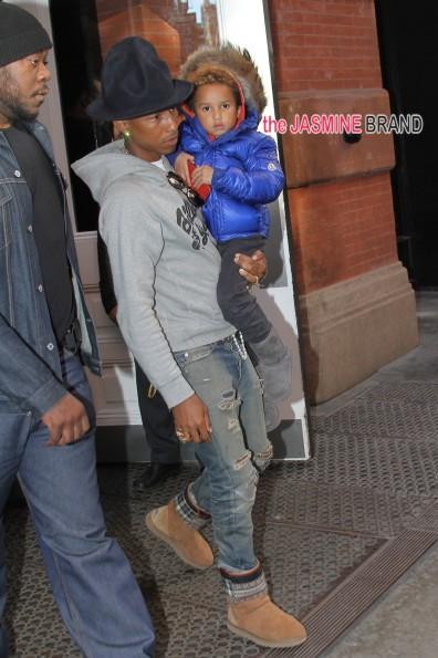 Pharrell Williams & Wife Helen Welcome Triplets