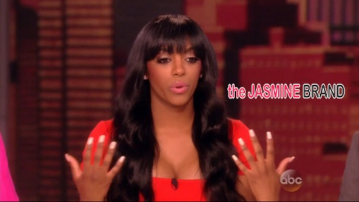 [VIDEO] Porsha Williams Visits 'The View', Says Kenya Moore's Scepter Was A 'Weapon'