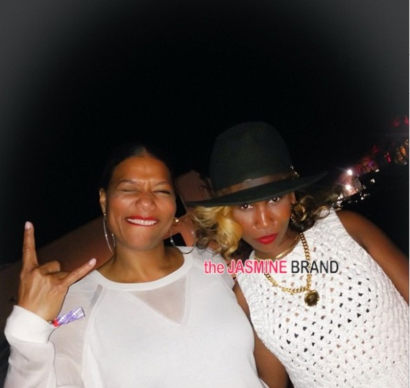 queen latifah-celebrities-celebs-spotted at coachella 2014-the jasmine brand