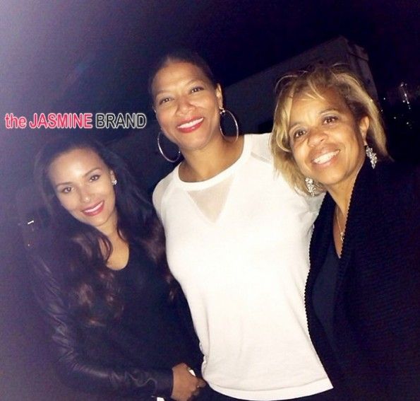 queen latifah-eudoxiee-celebrities-celebs-spotted at coachella 2014-the jasmine brand