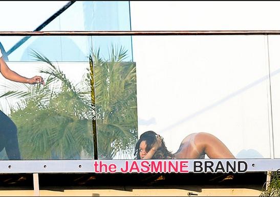 rihanna-i-french magazine shoot-bottom less-face down-the jasmine brand