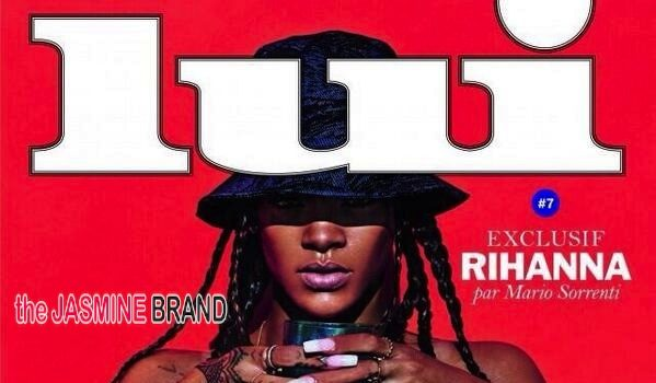 Topless & Proud! Rihanna Takes Top & Bottoms Off For 'Lui'