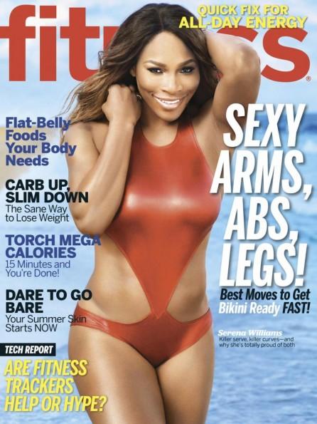 serena williams fitness magazine 2014-the jasmine brand