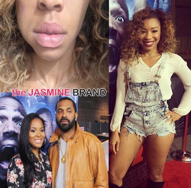 Actress Simone Shepherd Alleges Mike Epps Punched Her At Movie Premiere