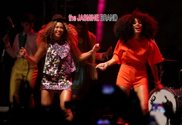 [VIDEO] Solange & Beyonce Share A Priceless Moment At Coachella
