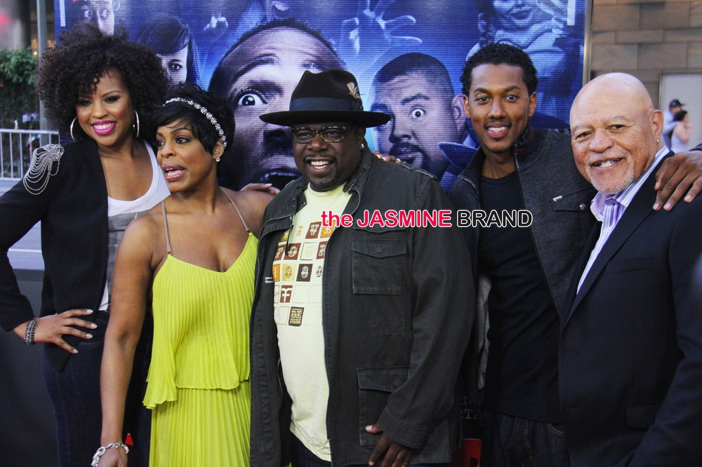 A Haunted House 2' Premiere: Cedric the Entertainer, Brandy, Floyd