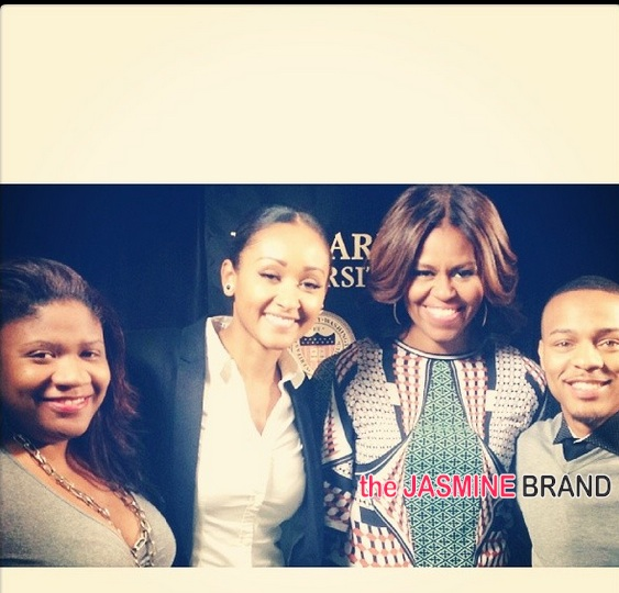 students-first lady michelle obama-bow wow-visit speak-howard university 2014-the jasmine brand