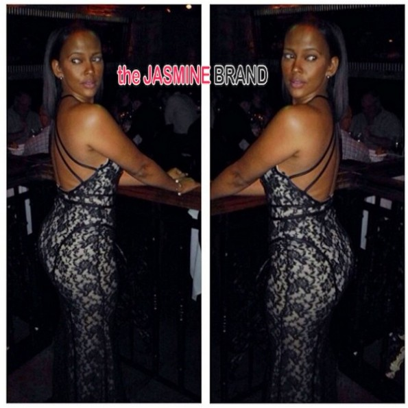 sundy carter-birthday dinner-basketball wives la 2014-the jasmine brand