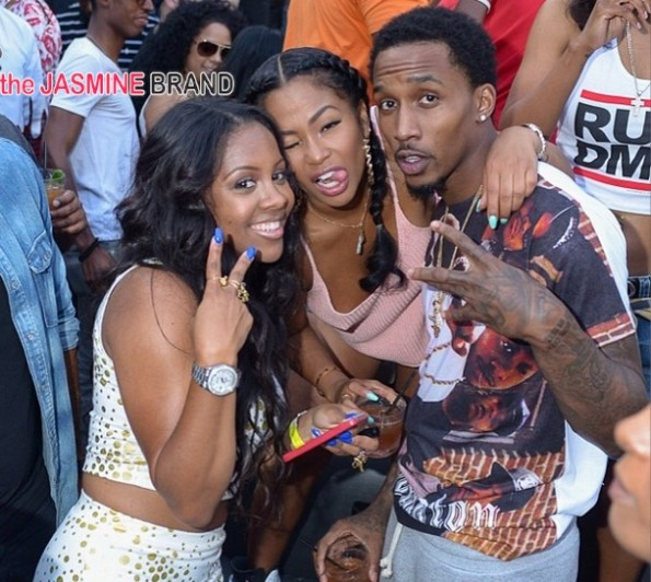 tae heckard-nba brandon jennings-celebrities-los angeles la day party-toxic 2014-the jasmine brand