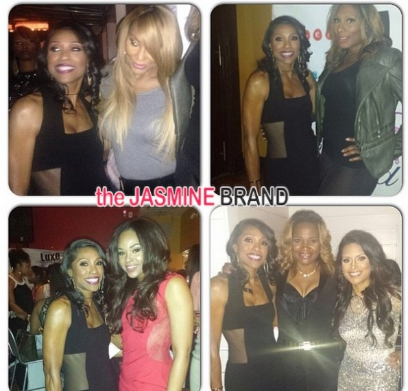 tamar braxton-dr heavenly-lisa nicole-married to medicine-season 2 premiere party-the jasmine brand