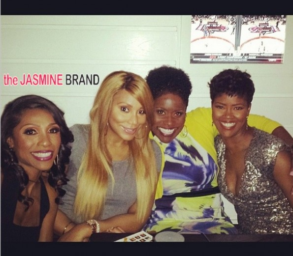 tamar braxton-dr jackie-guests-married to medicine-season 2 premiere party-the jasmine brand