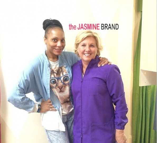 tamar braxton-no make up-dentist visit 2014-the jasmine brand