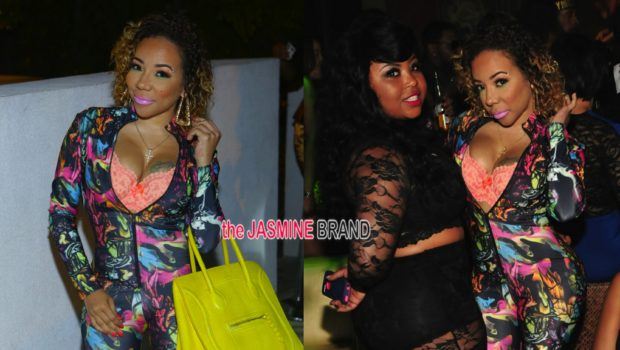 BFFs Tameka Tiny Harris & Shekinah Hit Future's Album Release Party