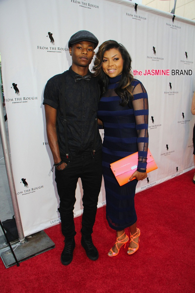 Photos From The Rough Movie Premiere Taraji P Henson