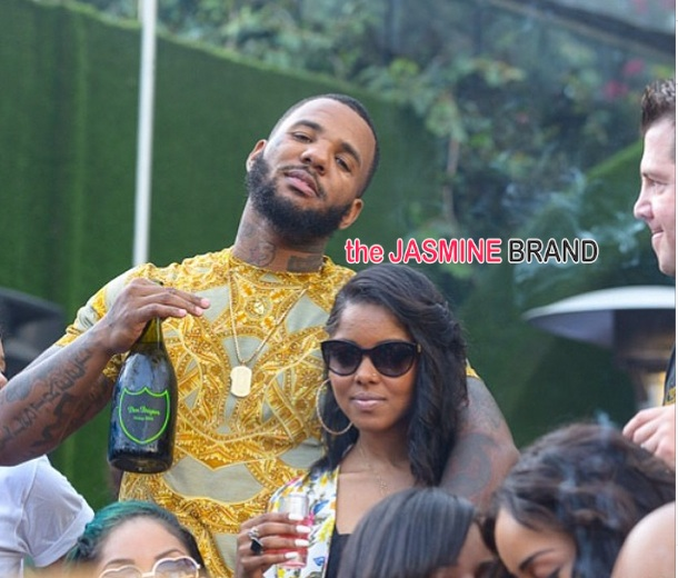 Day Party Madness: Rihanna, Trey Songz, The Game, Tae Heckard & Famous Folk Attend 'Toxic'