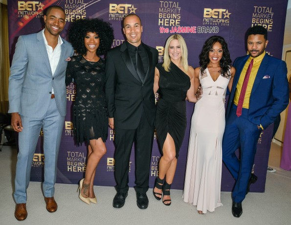 2014 BET Networks Upfront - Backstage - New York