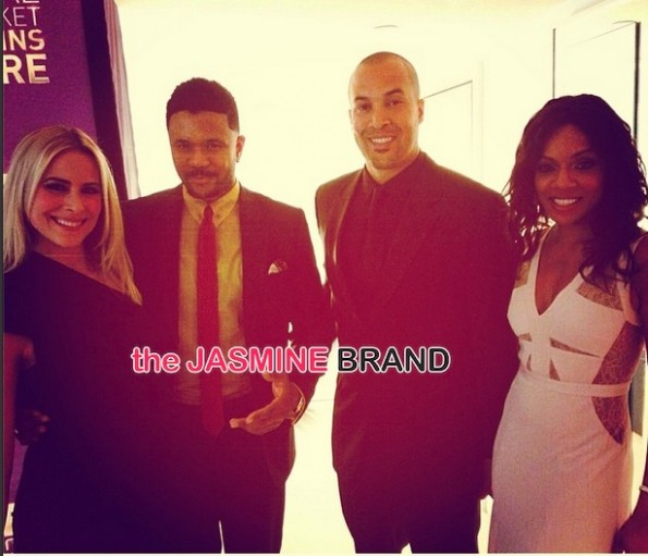 the game cast-BET Upfront 2014-the jasmine brand