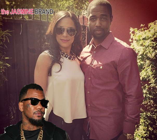 The Game's Ex Fiancee Seeks Counsel In Life Coach Tony Gaskins