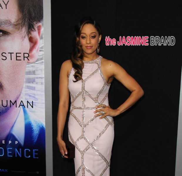 Tia Mowry, Brittany Daniel & Garcelle Beauvais Attend 'Transcendence' Premiere