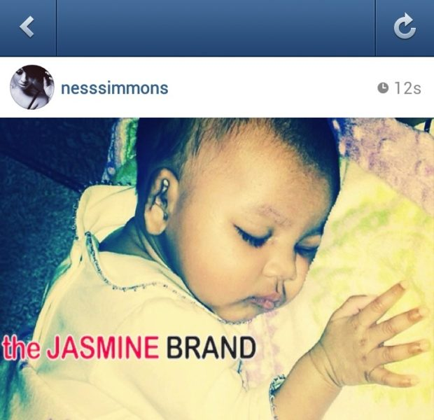 Kiddie Cuteness! Vanessa Simmons Reveals Adorable Baby Girl