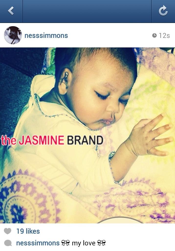 vanessa simmons-debuts-reveals-adorable daughter-the jasmine brand