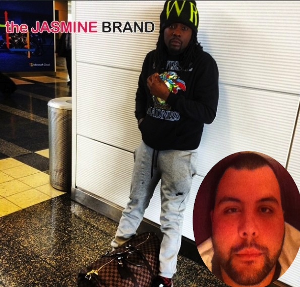 wale-allegedly punches man-at wwe match for taunting him-the jasmine brand