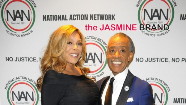 Wendy Williams, Rev. Al Sharpton & Tamron Hall Attend 'Keepers of the Dream Awards'