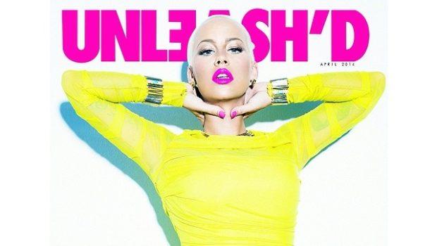 [Photos] Amber Rose Twerks For UNLEASH'D Magazine
