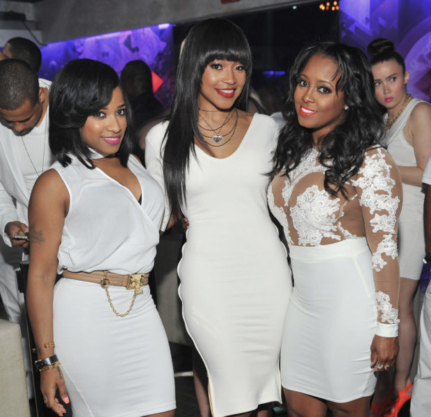 Keshia Knight-Pulliam, Monyetta Shaw & Toya Wright Hit ATL White Party