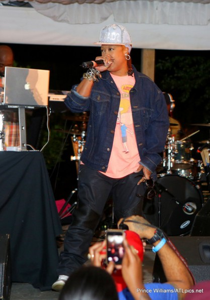 Da Brat Stage-atl live at the park-the jasmine brand
