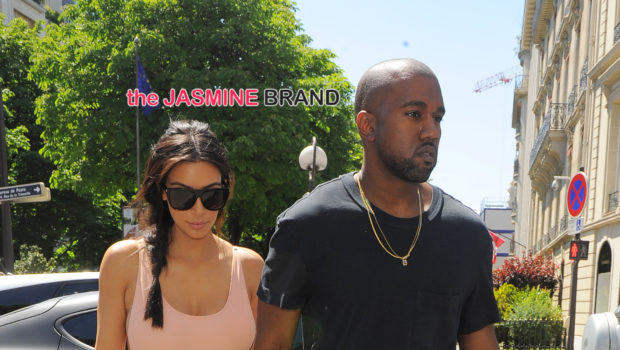 Celebrity Stalking: Kim Kardashian & Kanye West Lunch in Paris, Tamar Braxton & Vince Film in Miami + Rihanna, Gayle King, Solange & Beyonce + More Famous Folk