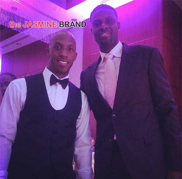 Nazr Mohammed and Chancey Billups (1)