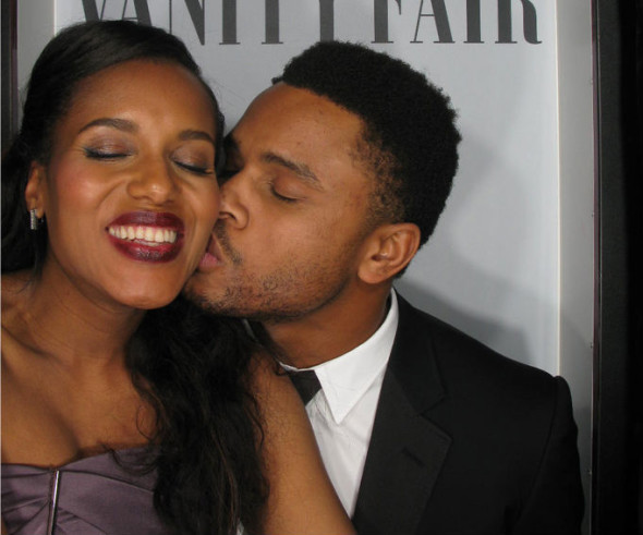 Kerry Washington's Husband, Actor Nnamdi Asomugha Says There Are No Plans For Them To Collaborate On A Project