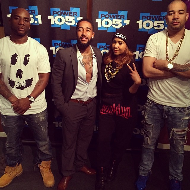 Omarion on Breakfast club