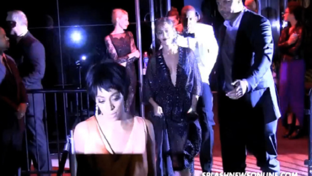 [UPDATED] Extended Video: Solange Allegedly Attacks Jay Z In Elevator