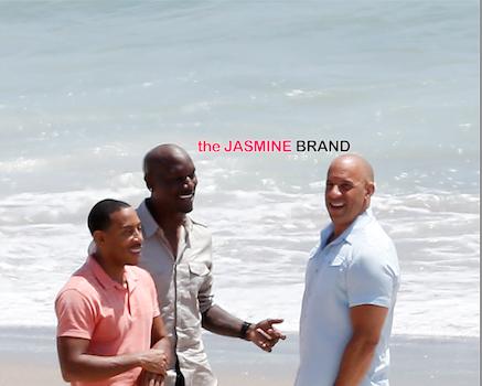 'Fast & Furious 7' Cast Spotted Filming In Malibu: Vin Diesel, Tyrese & Ludacris