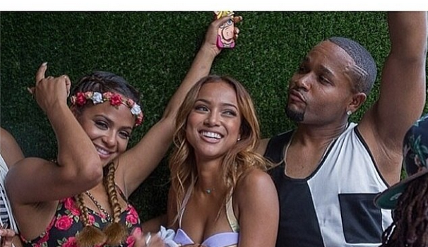 Spotted. Stalked. Scene. Cassie, Christina Milian Celebrate Karrueche's Birthday at 'Toxic Day Party'