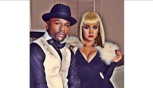 Cup Cakin' Alert: Has Floyd Mayweather Found A New Love? Meet Doralie Medina