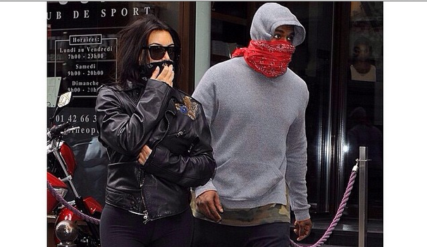 #TeamFitness Kanye West & Kim Kardashian Spend Final Pre-Wedding Days Hitting the Gym