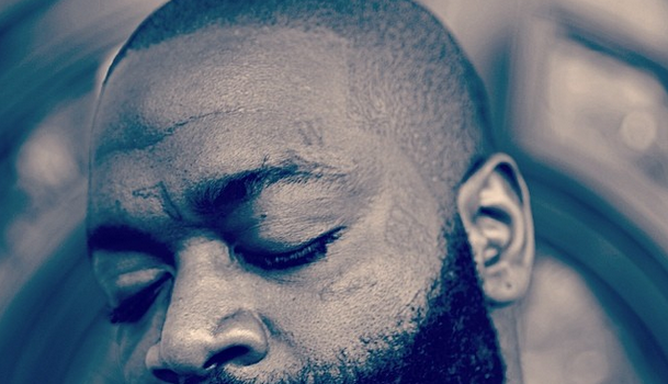 Ouch! Rick Ross Debuts New Face Tattoo